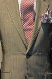 Tailor-made men`s suit Stock Photos