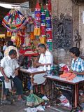 Tailor in Madurai, Tamil Nadu, India Royalty Free Stock Images