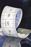 Tailor measure tape spiral Royalty Free Stock Images