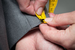 Free Tailor Measuring Royalty Free Stock Photography - 28496067