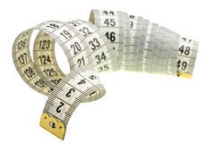 Tailor measuring tape Royalty Free Stock Image