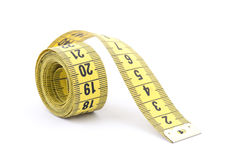 Tailor measuring tape. With soft shadow Royalty Free Stock Photography