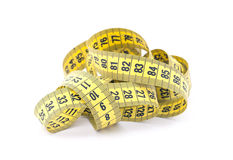 Tailor measuring tape Stock Photo