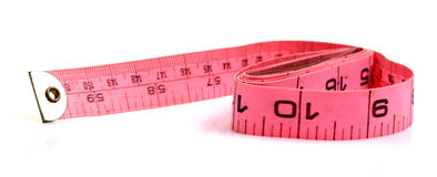 Tailor measuring tape Royalty Free Stock Photos