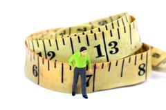 Tailor measuring tape Stock Photos