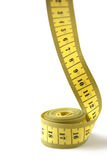 Tailor measuring tape isolated Royalty Free Stock Images