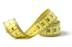 Tailor measuring tape isolated Royalty Free Stock Photography