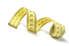 Tailor measuring tape isolated Royalty Free Stock Image