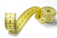 Tailor measuring tape isolated Royalty Free Stock Photos