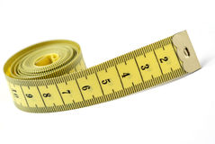 Tailor measuring tape isolated Royalty Free Stock Photo