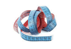 Tailor's measuring tape Royalty Free Stock Images