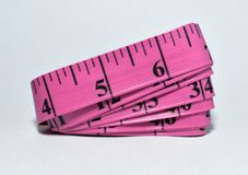Tailor`s Measuring Tape royalty free stock photography