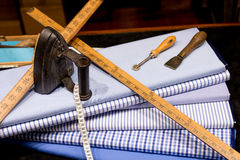 Tailor's Scene Royalty Free Stock Photography