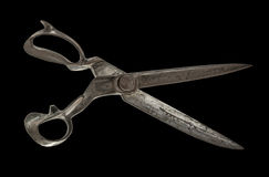 Tailor`s shears Royalty Free Stock Photo