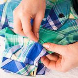 Tailor's work Royalty Free Stock Images