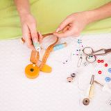Tailor's work Royalty Free Stock Photos