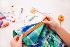 Tailor's work Stock Photography