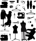 Tailor and seamstress Royalty Free Stock Images