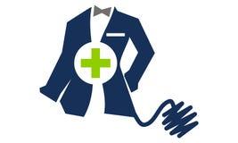 Tailor Service医生的衣物 免版税库存照片