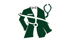 Tailor Service医生的衣物 免版税库存图片