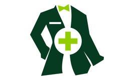 Tailor Service医生的衣物 库存图片