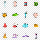 Tailor set icons Royalty Free Stock Photo