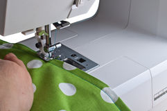 Tailor sewing Stock Image