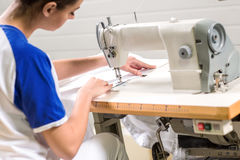 Tailor sewing Stock Photography