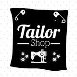 Tailor shop design Royalty Free Stock Photography
