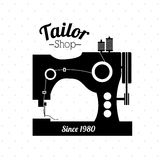 Tailor shop design Stock Photos