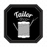 Tailor shop design Royalty Free Stock Photo