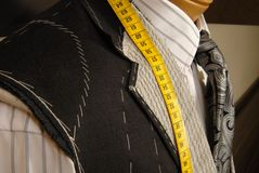 Tailor shop mannequin. Stock Photography