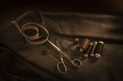 Tailor shop Royalty Free Stock Image