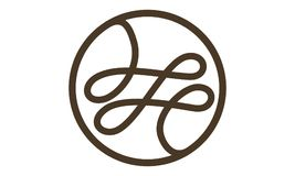 Tailor Thread Logo Design Template Royalty Free Stock Image