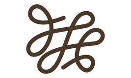 Tailor Thread Logo Design Template Stock Photo