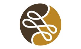 Tailor Thread Logo Design Template Royalty Free Stock Photo