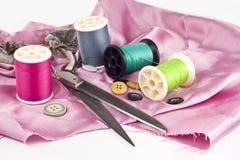 Tailor tool set Stock Photo