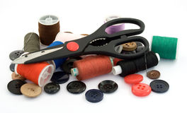 Tailor tools Royalty Free Stock Photo