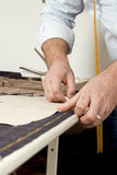 Tailor at work Stock Photos