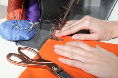 Tailor work Royalty Free Stock Images
