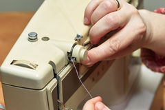 Tailor work. Royalty Free Stock Images