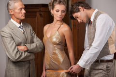 Tailor at work. Royalty Free Stock Photography