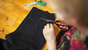 Tailor work. Royalty Free Stock Photos