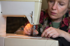 Tailor work. Royalty Free Stock Image