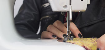Tailor working Royalty Free Stock Images