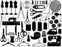 Tailoring Equipment Royalty Free Stock Photo