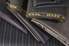 TAILORING FABRICS Royalty Free Stock Images
