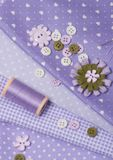 Tailoring Hobby Accessories. Sewing Craft Kit.  Stock Image