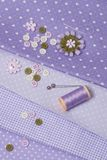 Tailoring Hobby Accessories. Sewing Craft Kit.  Stock Photos