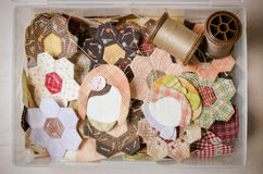 Tailoring Hobby Accessories. Sewing Craft Kit. Quilting Royalty Free Stock Images